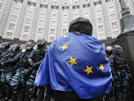 Сторонник оппозиции в Киеве