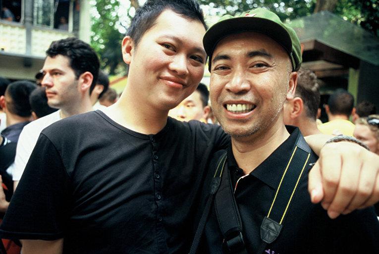 Участника праздника ЛГБТ в Китае