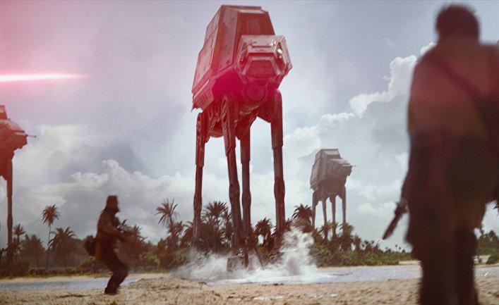 Кадр из фильма «Изгой-один. Звёздные войны: Истории»
