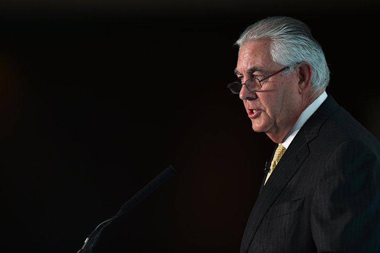 Председатель и главный исполнительный директор американской нефтяной и газовой корпорации ExxonMobil Рекс Тиллерсон