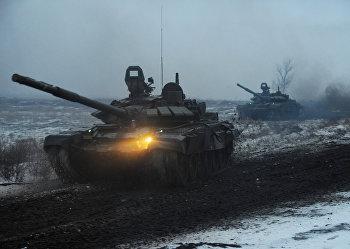 Военные учения в Ростовской области