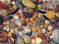Репродукция картины «Плоды и овощи»