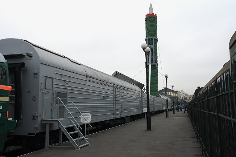 Боевой железнодорожный ракетный комплекс «Молодец»