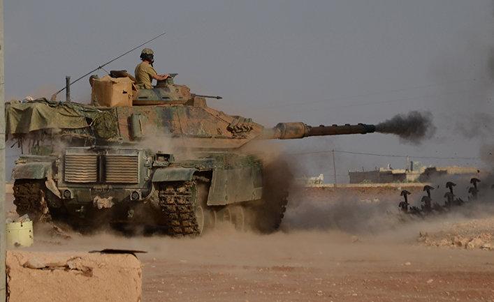 Турецкие войска при содействии отрядов Сирийской свободной армии проводят на севере Сирии операцию «Щит Евфрата»