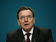 Экс-канцлер ФРГ Герхард Шредер в Берлине