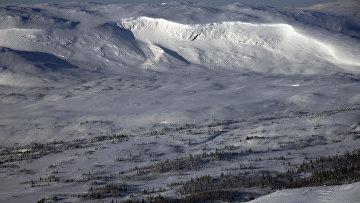 Горы в Швеции