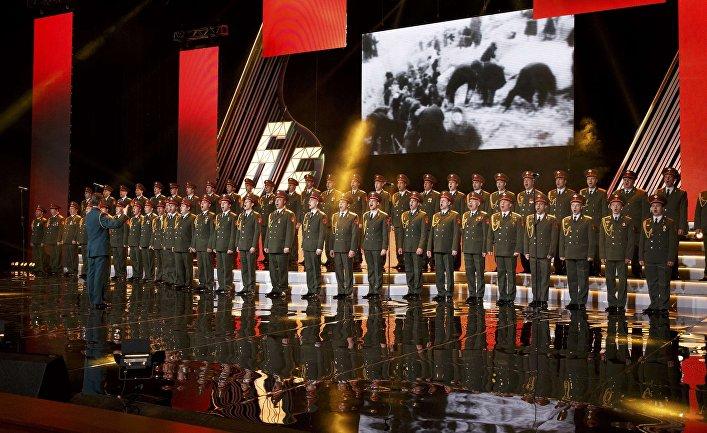 Концерт ансамбля Александрова в Москве