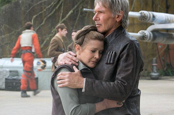 Кадр из фильма «Звёздные войны: Пробуждение силы»