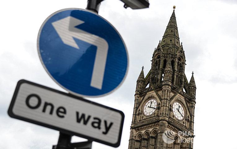 Башня ратуши в Манчестере