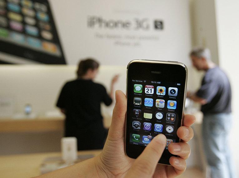 iPhone 3GS в магазине Apple