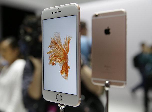 Демонстрация iPhone 6с после мероприятия Apple в Сан-Франциско