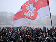 Митинг против ухудшения экономической ситуации в Минске