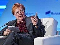 Глава МИД Финляндии Тарья Халонен