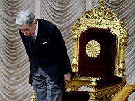 Правящий император Японии Акихито