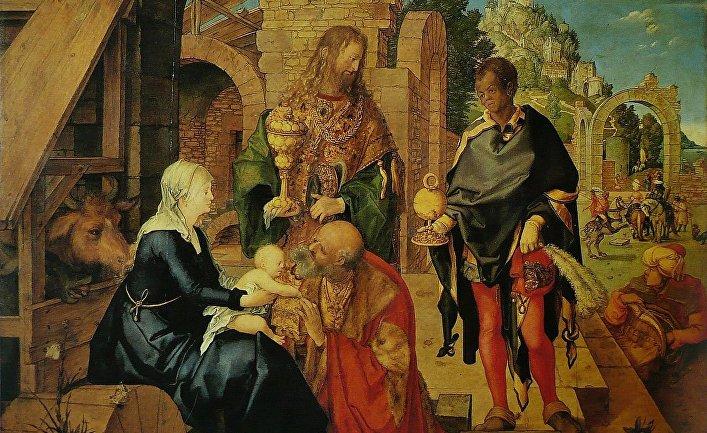 Альбрехт Дюрер «Поклонение волхвов» (1504)
