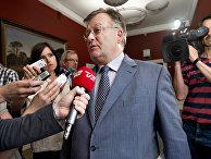 Министр обороны Дании Клаус Хьорт Фредериксен