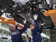 Сборка автомобилей Skoda Yeti на Горьковском автозаводе