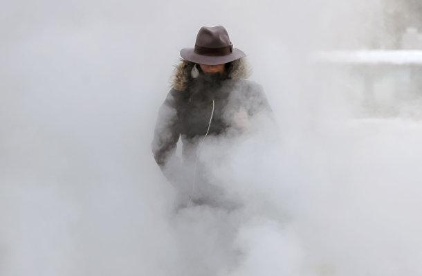 Аномальные холода в Румынии