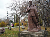 Памятник Иосифу Сталину в московском Парке искусств «Музеон»