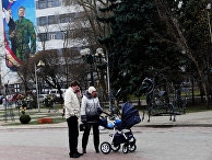 Мирная жизнь в Донецке