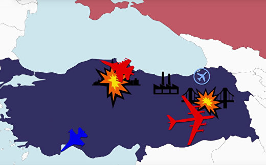 Россия против Турции: воздушная война