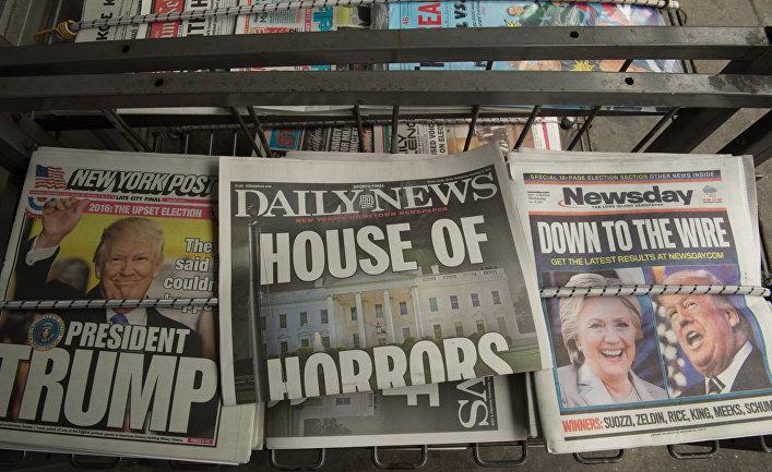 Американские СМИ обещали Трампу, что будут работать корректнее