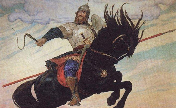 «Богатырский скок». Виктор Васнецов