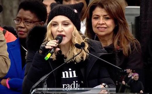 Мадонна: а не взорвать ли Белый дом?
