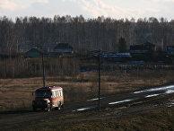 Сельская жизнь в Новосибирской области