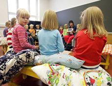 Начальная школа в городе Вааса в Финляндии