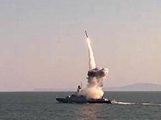 Корабли Каспийской флотилии совершили пуски из комплекса «Калибр» в рамках учения «Кавказ-2016»