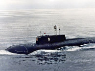 Подводная лодка «Курск» в Североморске, 1999 год