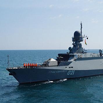Малый ракетный корабль (МРК) проекта 21631 «Буян-М» «Град Свияжск»