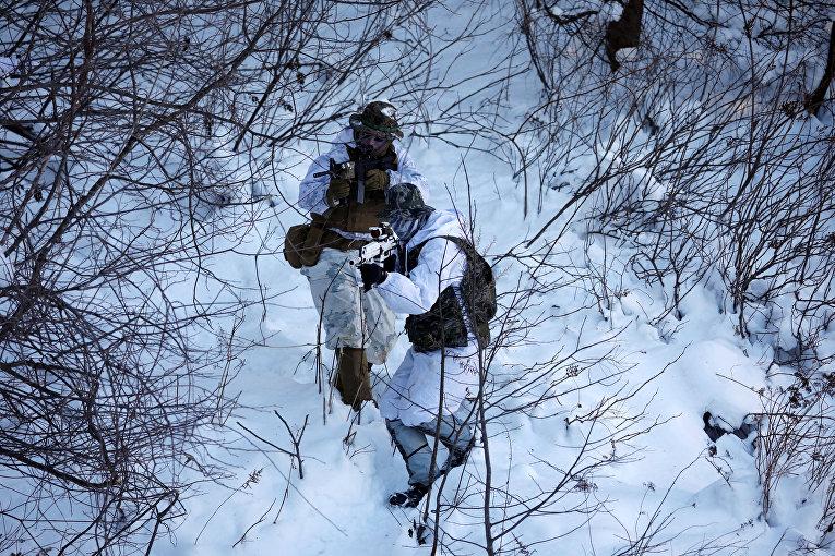 Зимние военные учения США - Южная Корея