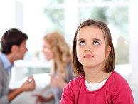 Девочка и спорящие родители