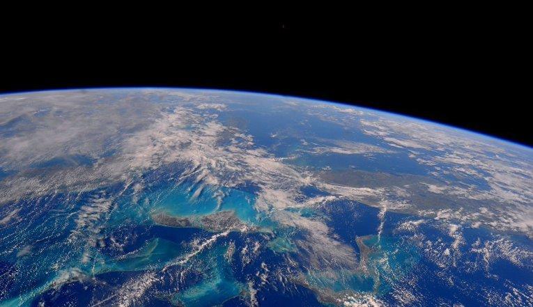 Планета Земля снятая с МКС астронавтом NASA Тимоти Копра