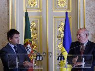 Министры иностранных дел Португалии и Украины