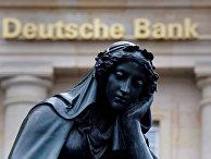 Статуя рядом с офисом компании Deutsche Bank во Франкфурте-на-Майне, Германия