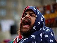 Акция протеста против миграционной политики трампа