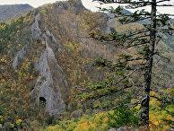 Пещера «Врата дьявола» на Дальнем Востоке России