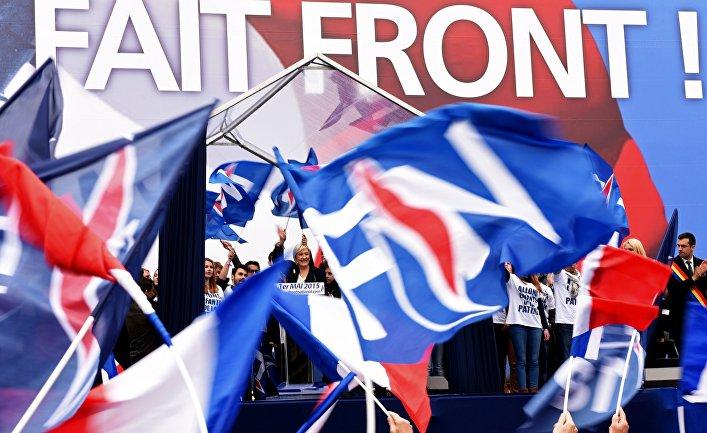 Кандидат впрезиденты Франции желает провести референдум овыходе страны из европейского союза