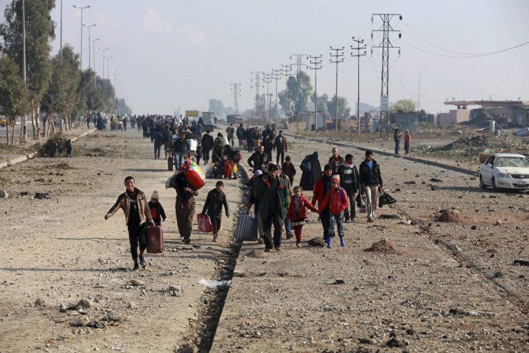 Перемещенные иракцы