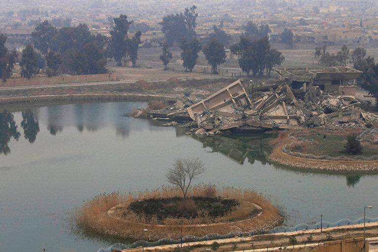 Одна из бывших резиденций диктатора Саддама Хуссейна