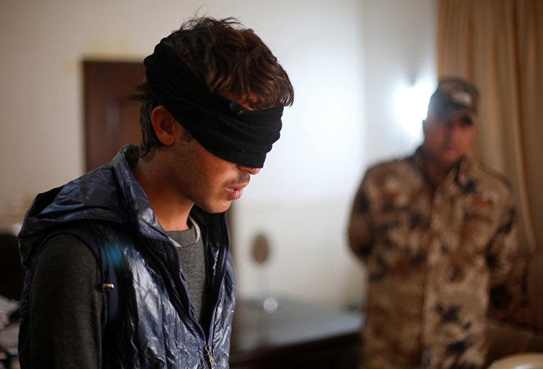 Подозреваемый в связях с ИГИЛ
