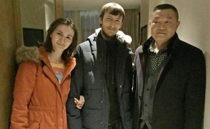 Русская пара в больнице городского округа Ибинь