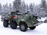 Армейская скорая помощь в Рованиеми