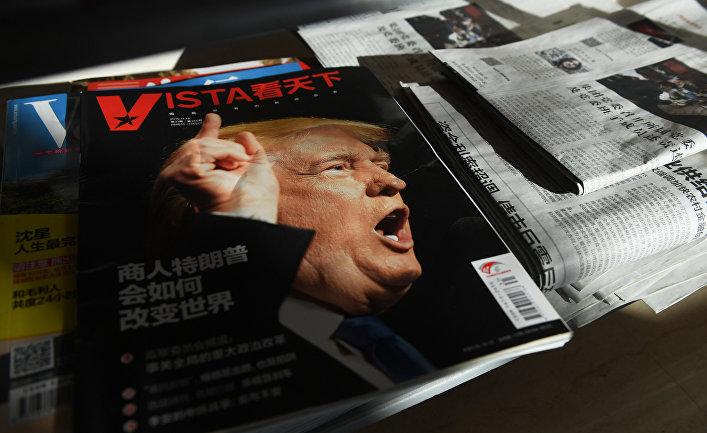 Трамп выразил СиЦзиньпину надежду на«конструктивные отношения»