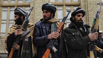 Бывшие боевики «Талибана» в Афганистане