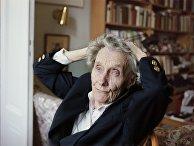Шведская писательница Астрид Линдгрен, архивное фото