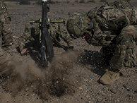Американские десантники на учениях